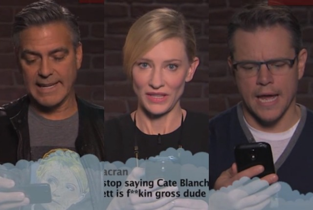 Star di Hollywood leggono i tweet offensivi a loro dedicati (VIDEO)