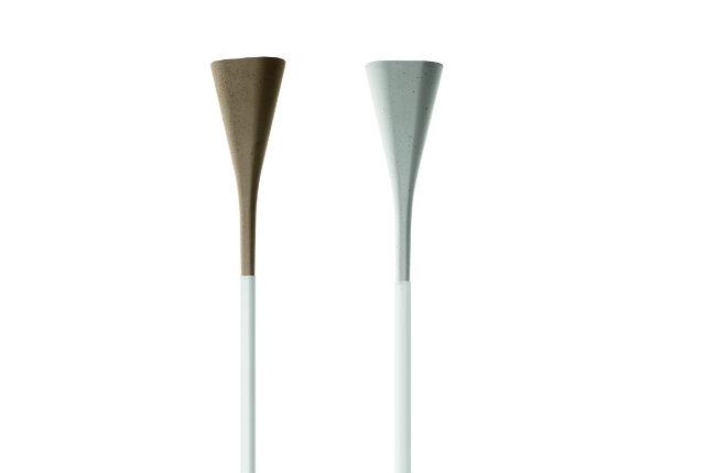 Il fascino del cemento grezzo per la nuova lampada di Foscarini