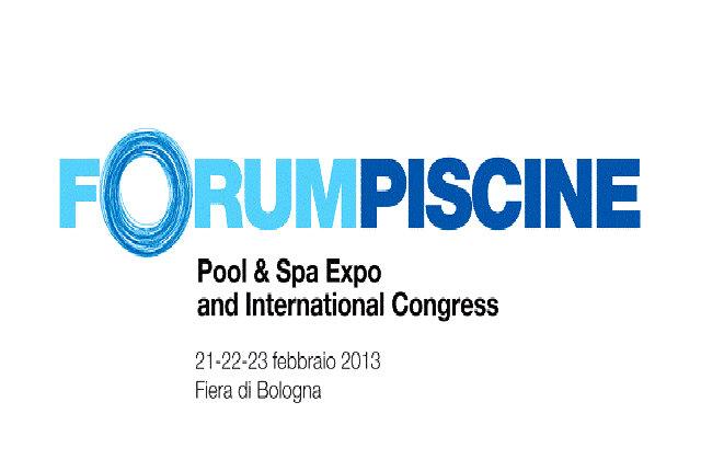 La Fiera di Bologna ospiterà l'edizione 2013 di ForumPiscine e Spa