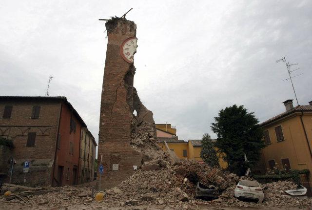 I campanili del mondo, i progetti di ricostruzione dopo il terremoto che ha colpito l'Emilia