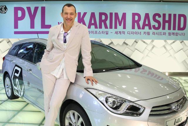 Karim Rashid per Hyundai, un incontro tra personalità e design
