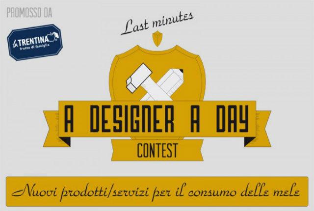 Sono aperte le iscrizioni per la seconda edizione di A Designer A Day