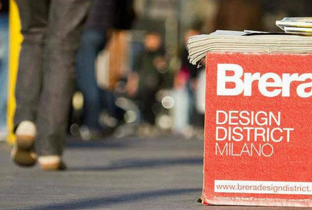 Itinerario Brera Design Distrect 2013