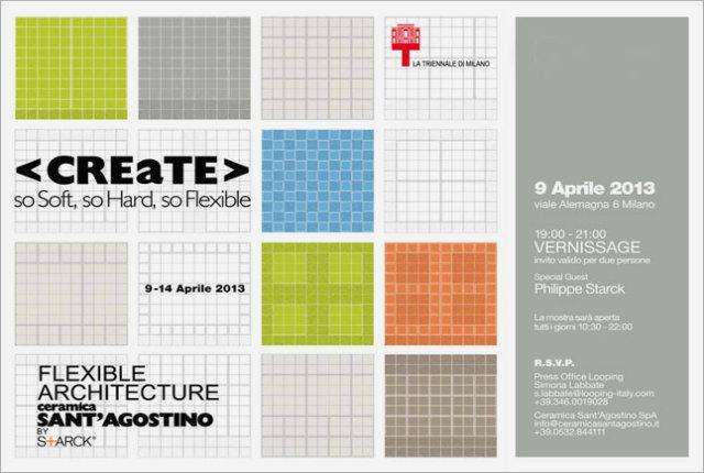 Ceramiche sant'Agostino e Philippe Starck alla Triennale