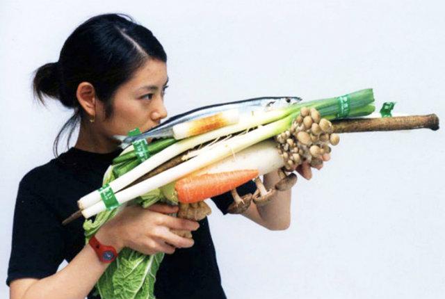 La guerra di verdure