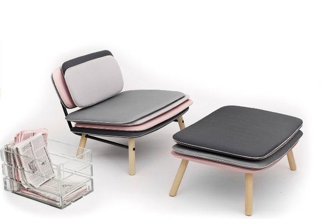 Stack, la sedia di cuscini