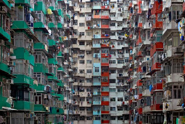 L'architettura ad alta densità di Michael Wolf