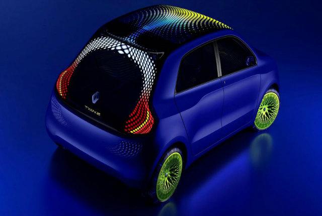 Renault Twin-z-Concept, l'auto del domani nasce dal design