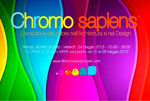 Florence Design Week, al via oggi la mostra Chromo sapiens