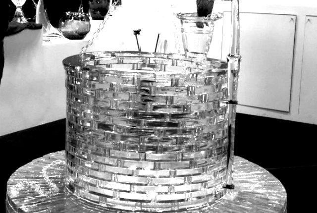 Il pozzo di cristallo alla Florence design week