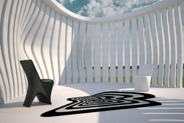I tappeti per esterni disegnati da Karim Rashid