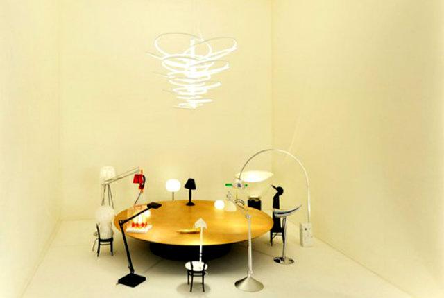 """Light Dinner"", Ron Gilad per Flos"
