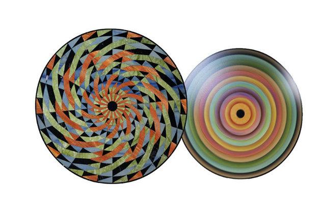 Opus Motus,  l'installazione ludica, appassionante, ipnotica, colorata