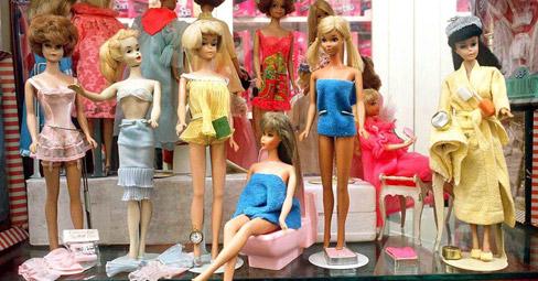Barbie e la sua nuova casa milanese