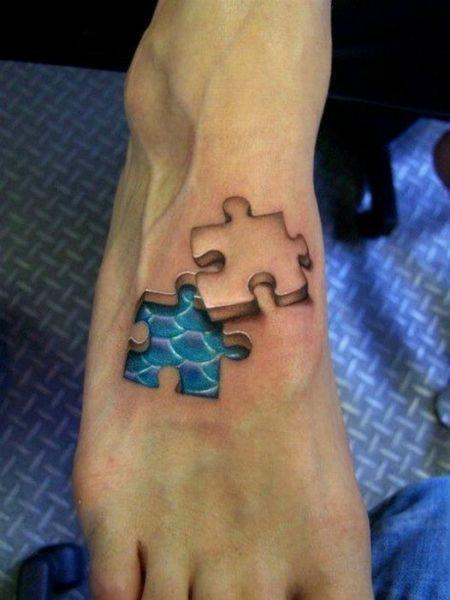I tatuaggi tridimensionali
