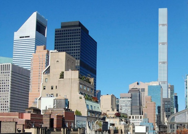 432 park avenue sar il grattacielo pi alto di new york for Appartamenti a new york manhattan in vendita