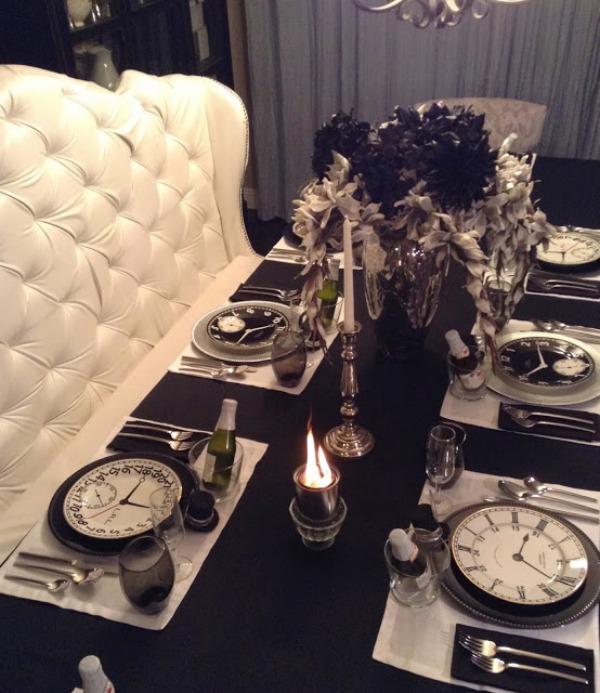 La tavola delle feste idee per un indimenticabile capodanno for Table 52 new years eve