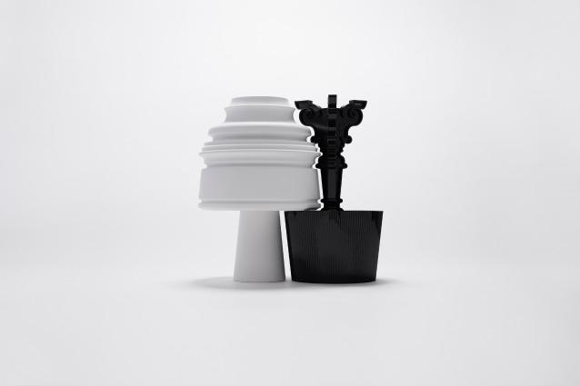 Buon anniversario Bourgie: 14 designer internazionali reinterpretano un classico Kartell