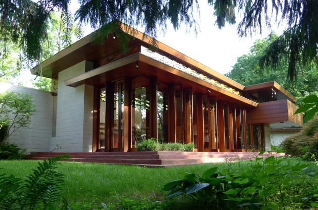 La casa di Frank Lloyd Wright salvata dalle inondazioni