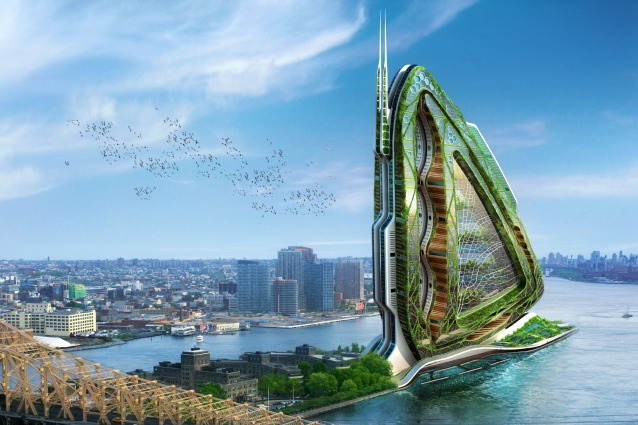 Dragonfly: le fattorie urbane ad alta quota saranno il futuro dell'agricoltura