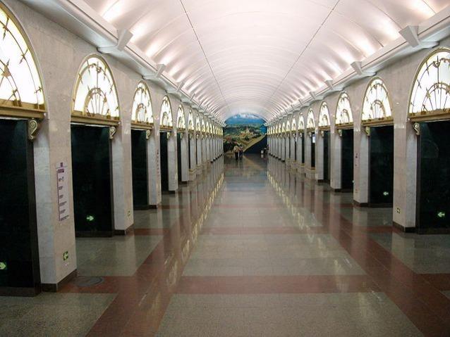 Admiralteyskaya, San Pietroburgo, Russia