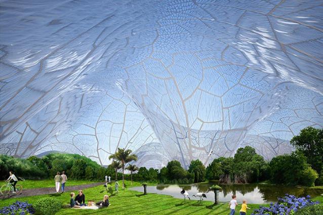 Bubbles: bolle d'aria su Pechino contro l'inquinamento della città