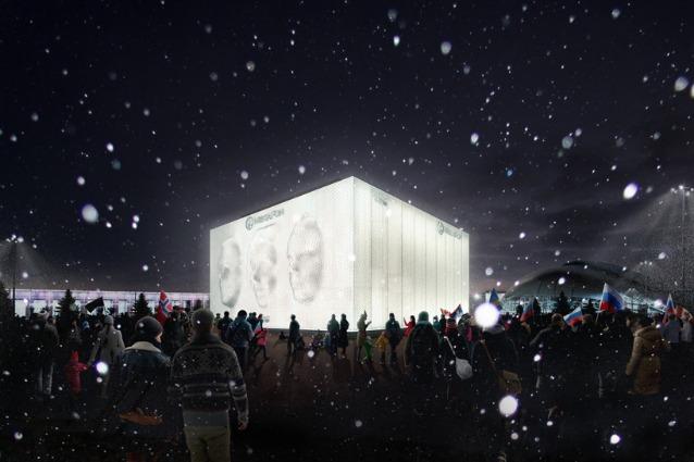 Sochi 2014: nell'installazione di Asif Khan tutti i volti delle Olimpiadi Invernali