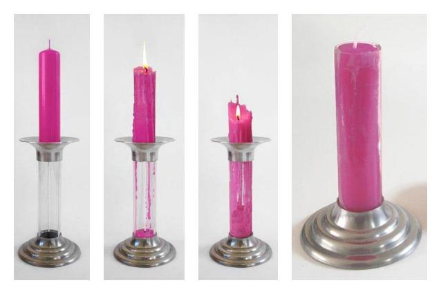 La candela perpetua: un modo intelligente e sostenibile per riciclare le candele