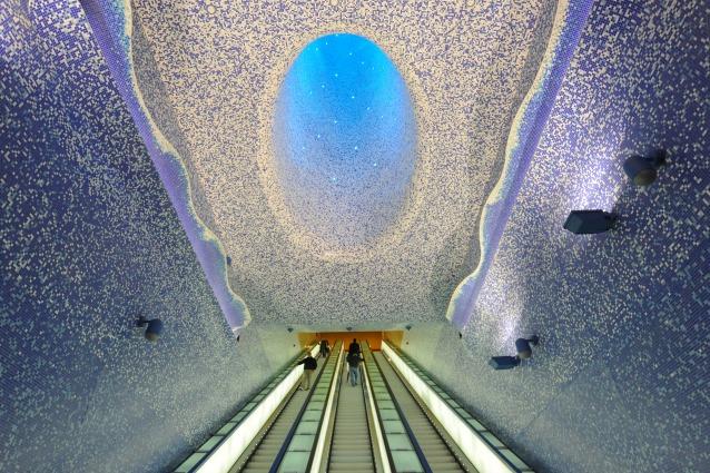 Le 12 stazioni metropolitane più imponenti d'Europa per la CNN: Toledo è sempre prima