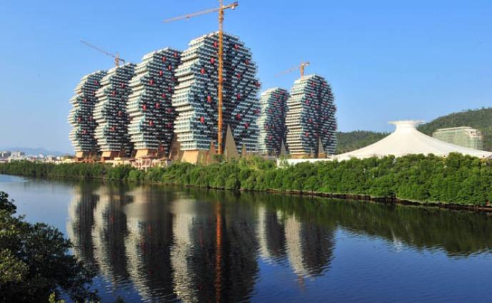 Un Hotel Lego in Cina: il Sanya Beauty Hotel a 7 stelle si ispira agli iconici mattoncini