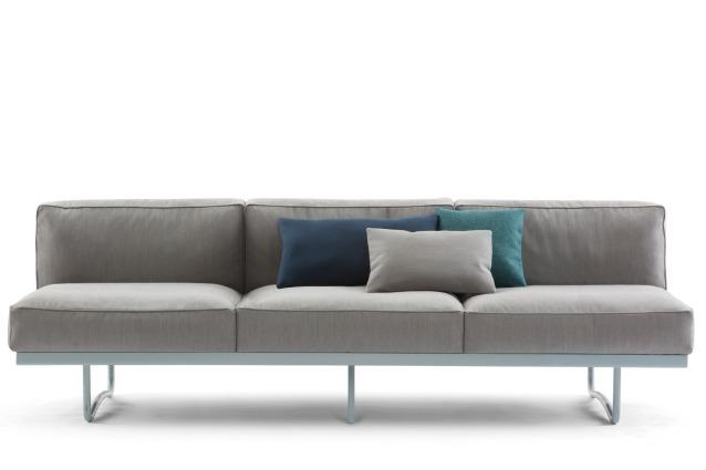 Le Corbusier al Salone del Mobile 2014 con il divano LC5 di Cassina