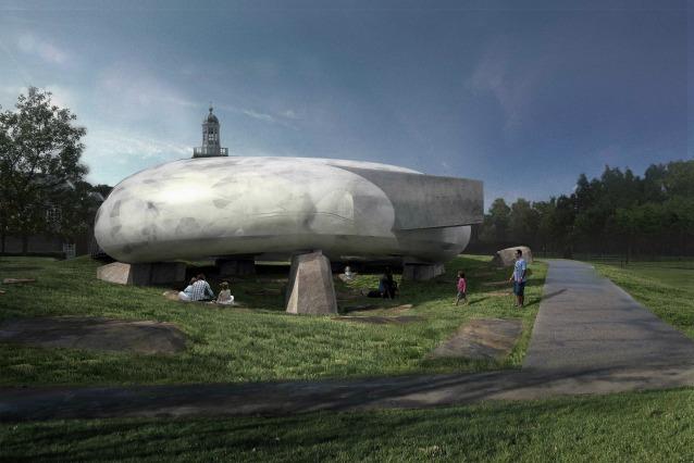 Padiglione della Serpentine Gallery 2014: un disco volante conquisterà Londra la prossima estate