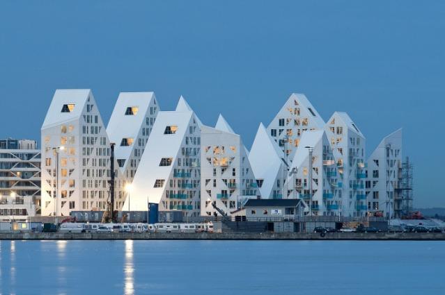 The Iceberg: in Danimarca arriva il quartiere galleggiante