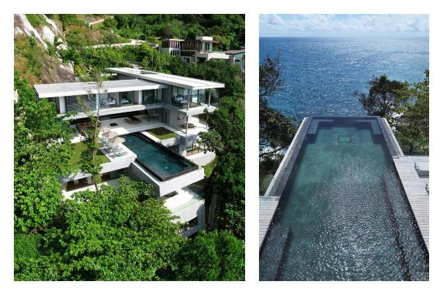 Villa Amanzi: un paradiso terrestre sulle rocce della Thailandia