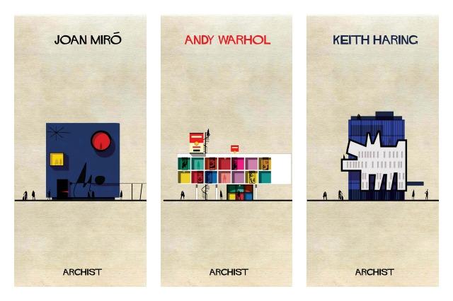 Archist City: se le opere d'arte più famose fossero edifici