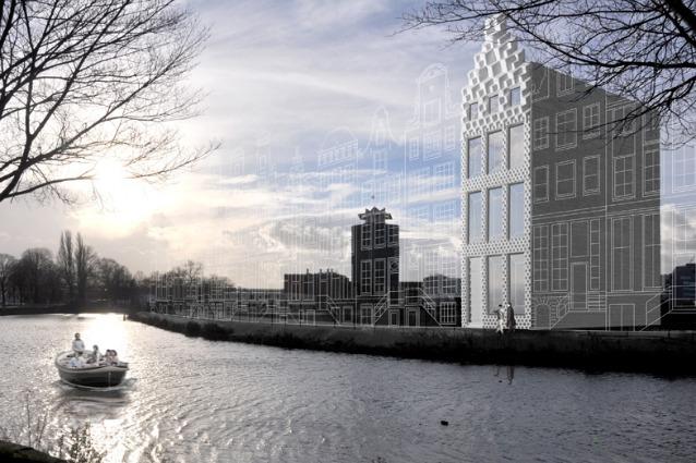 3D Print Canal House: ad Amsterdam il primo edificio stampato in 3D