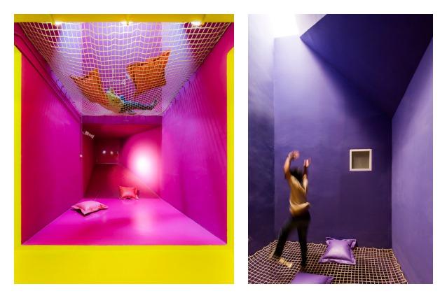 SAC: da un vecchio dormitorio nasce uno spazio multifunzionale vibrante e colorato
