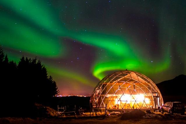 Solardome: vivere sotto una cupola di vetro