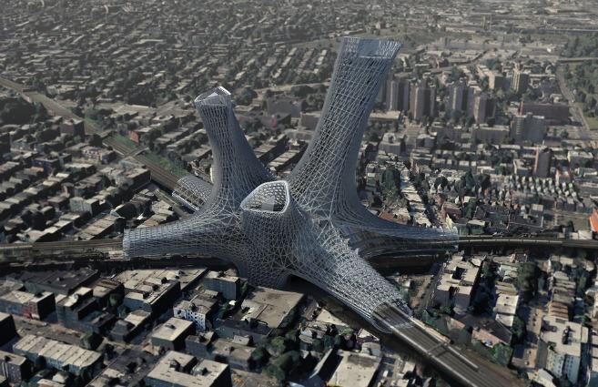 Alloy Urban Towers: vivere sopra i nodi di trasporto è il futuro di New York