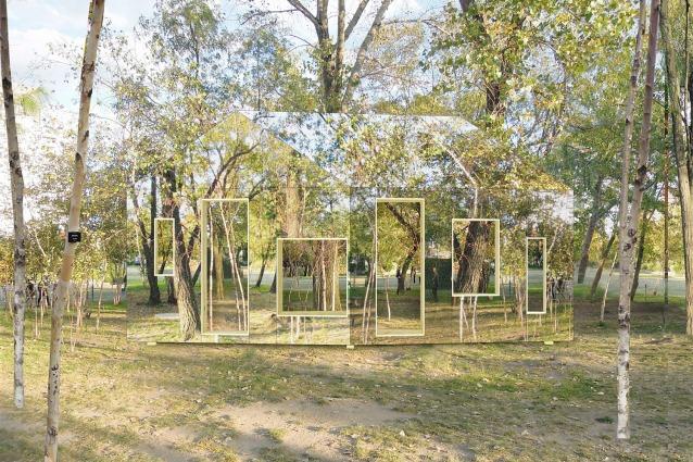 Il fienile invisibile: quando l'architettura si fonde con la natura