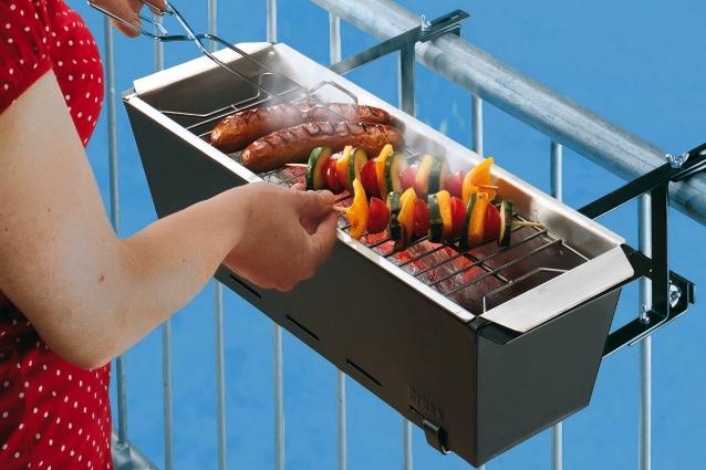 BBQ Bruce è la griglia ideale per ogni balcone