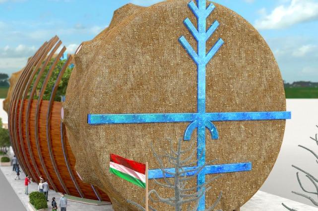 Expo2015: il Padiglione ungherese prende vita dall'acqua