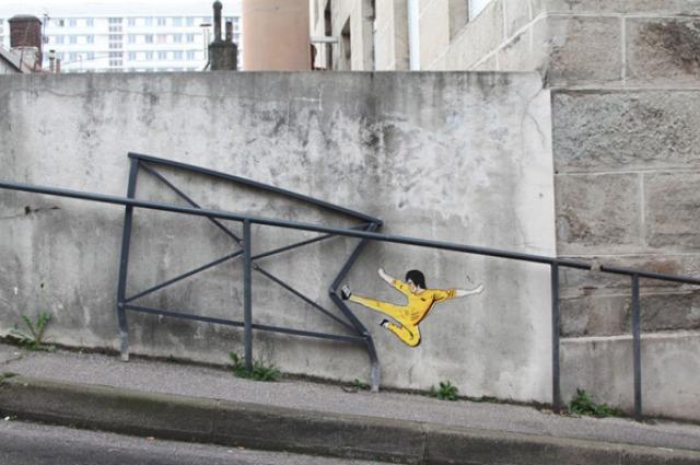 La street art interattiva: quando l'arte si integra con l'ambiente
