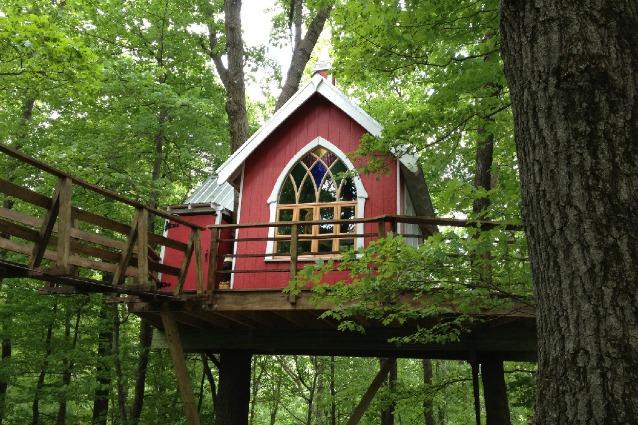 Treehouse Brewing Company: la prima casa sull'albero solo per adulti