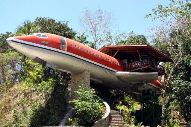 Da vecchio Boeing 727 ad albergo di lusso: quando la creatività incontra il riuso