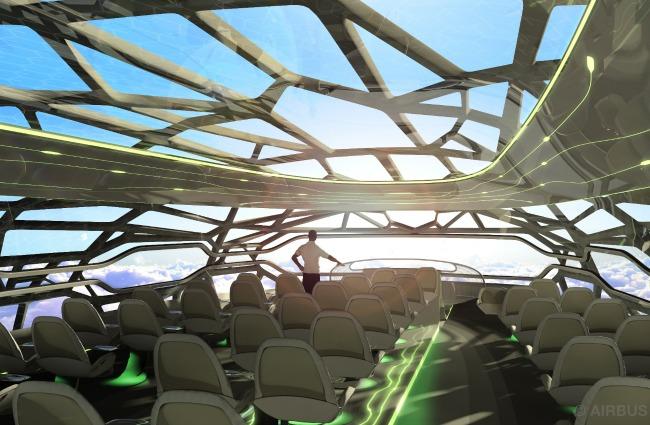 Come sarà volare nel 2050? Airbus svela l'aereo del futuro