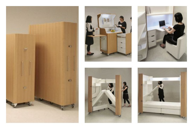 Idee Salvaspazio Camera Da Letto : Mobili salvaspazio per camera da letto translation mobili