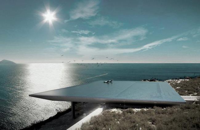 Mirage House: vivere in un sogno a strapiombo sull'Egeo