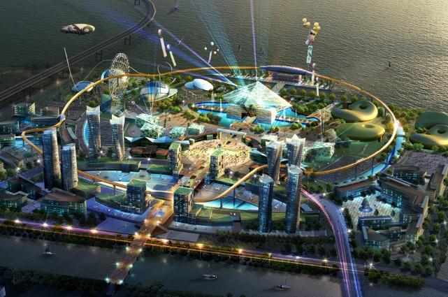 Benvenuti a Robot Land, la prima città robot della Terra