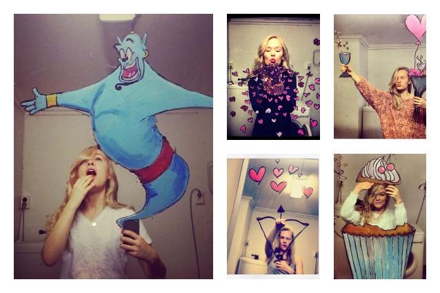 Mirrors Me: i selfie allo specchio più creativi mai visti